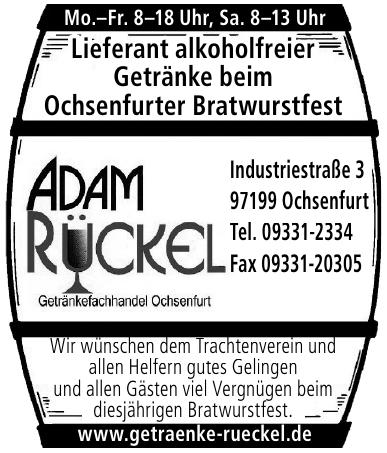 Getränkefachmark Adam Rückel