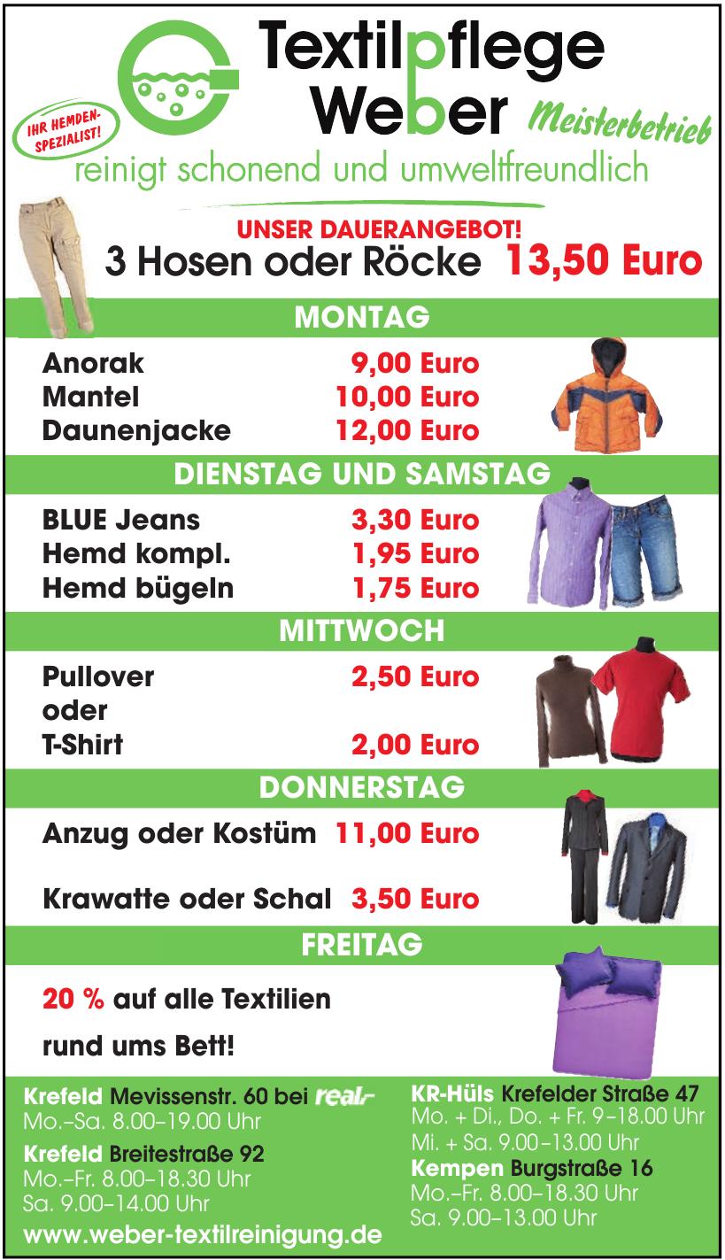 Textilpflege Weber Meisterbetrieb