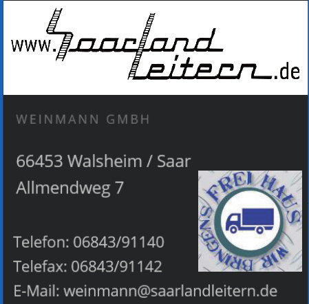 Saarlandleitern - Weinmann GmbH