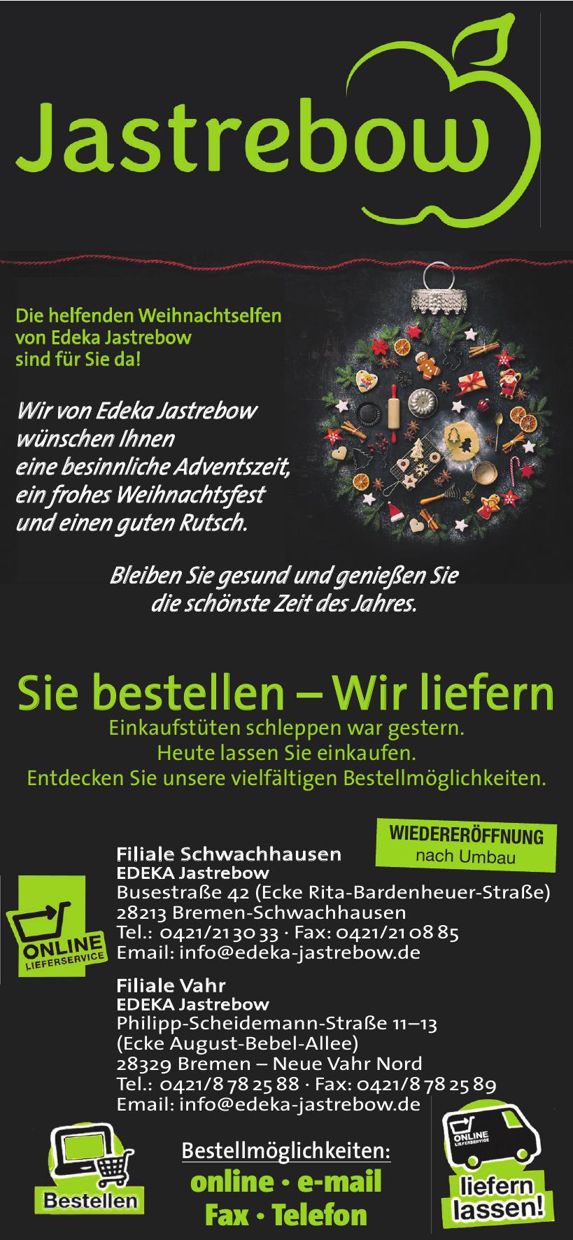 Filiale Schwachhausen EDEKA Jastrebow