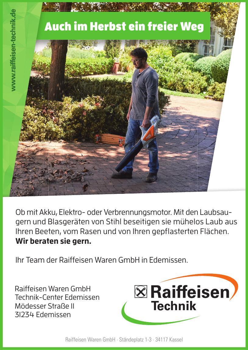 Raiffeisen Waren GmbH Technik-Center Edemissen