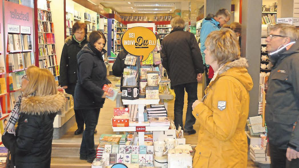 In Ruhe shoppen und Neues entdecken: Viele Händler laden die Besucher zu besonderen Aktionen ein.