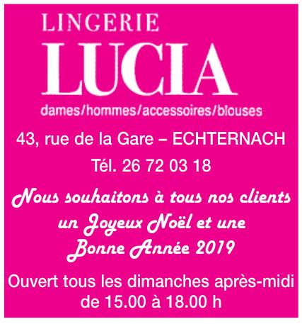Lingerie Lucia