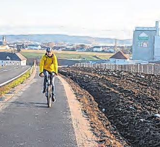 Wolfern fährt Rad. Foto: Gemeinden