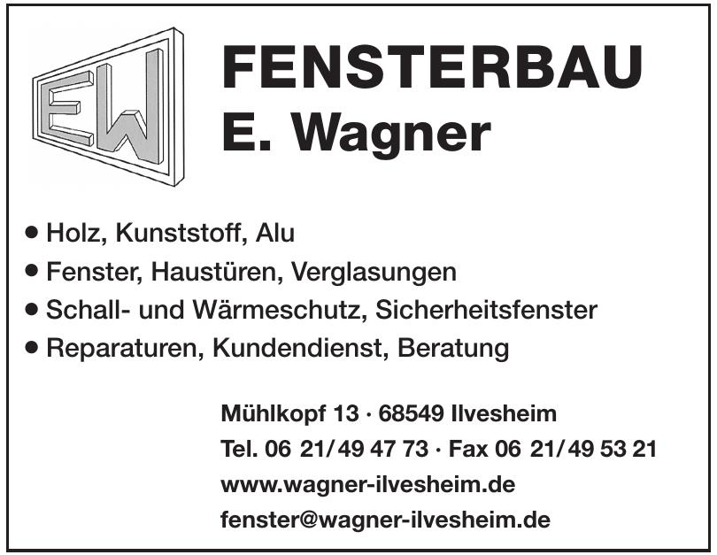 Fensterbau E. Wagner