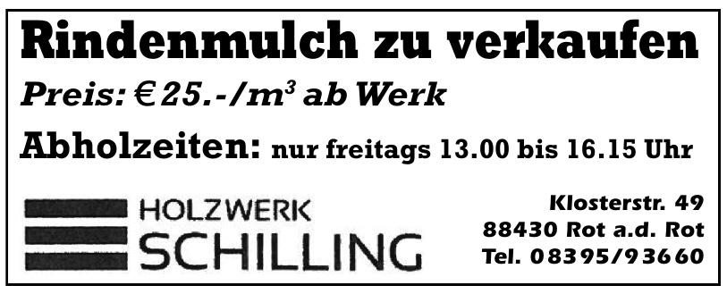 Holzwerk Schilling