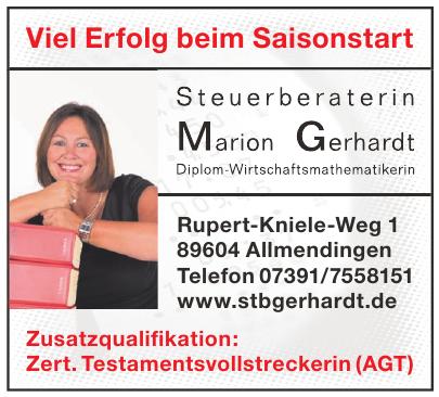 Steuerberaterin Marion Gerhardt