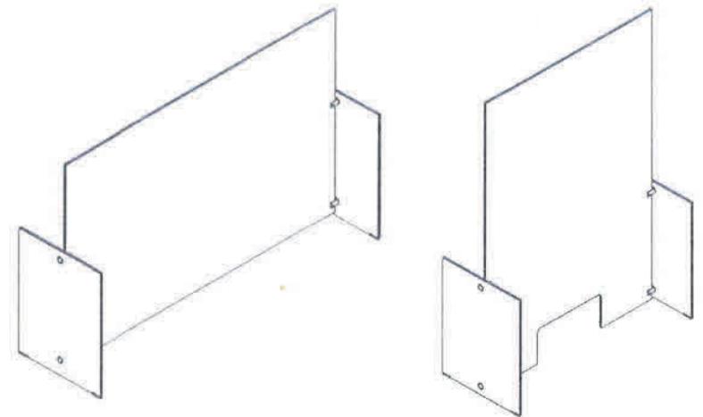 Die hochwertige Glas-Schutzwand gibt es bei Bölsche Glas- und Bauelemente in zwei Ausführungen als montagefertiges Set für Selbstabholerfür 199 Euro (plus Mehrwertsteuer).