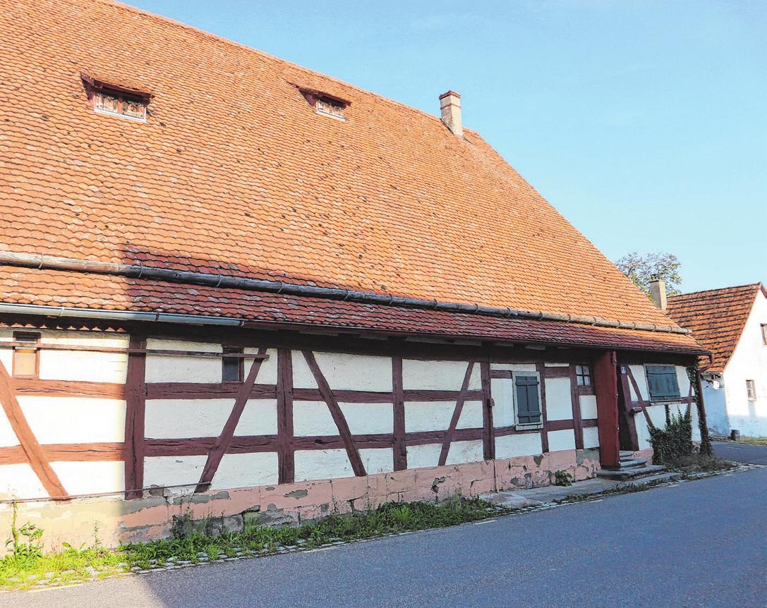 Die ehemalige Schafscheune beinhaltet heute das Heimatmuseum. Wegen Corona gab es heuer kaum Aktivitäten.