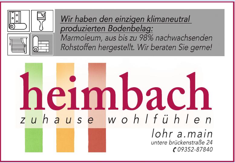 Wilhelm Heimbach e.K.  Farben und Raumgestaltung