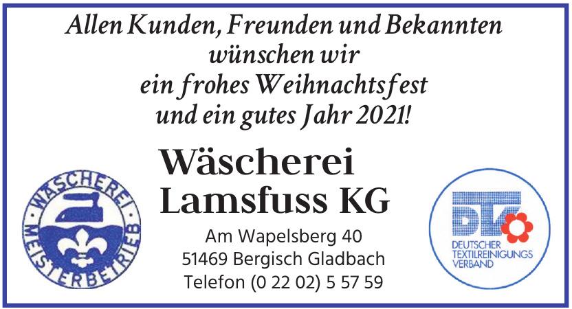 Wäscherei Lamsfuss KG