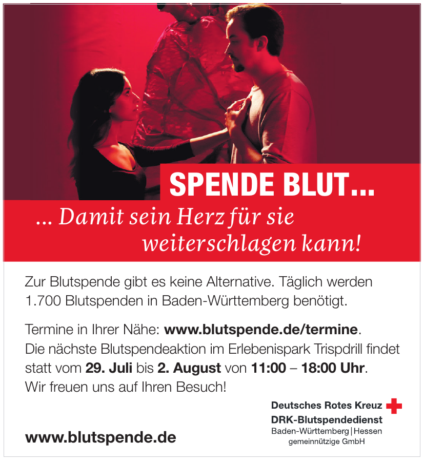 DRK - Blutspendedienst
