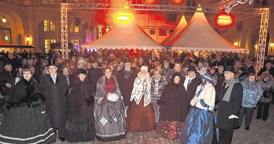 Höfische Weihnacht im Schweriner Schloss