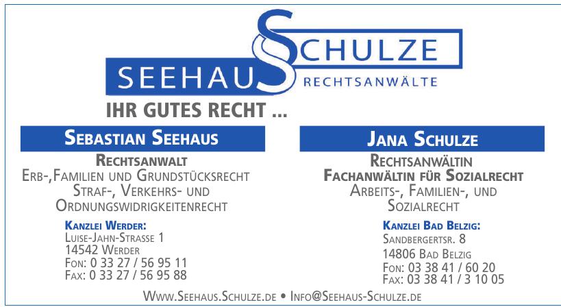 Seehaus Schulze Rechtsanwälte