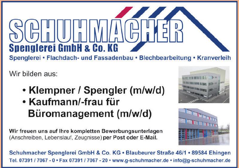 Schumacher Spenglerei GmbH & Co. KG