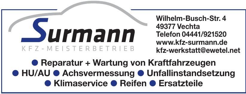 Surmann Kfz-Meisterbetrieb