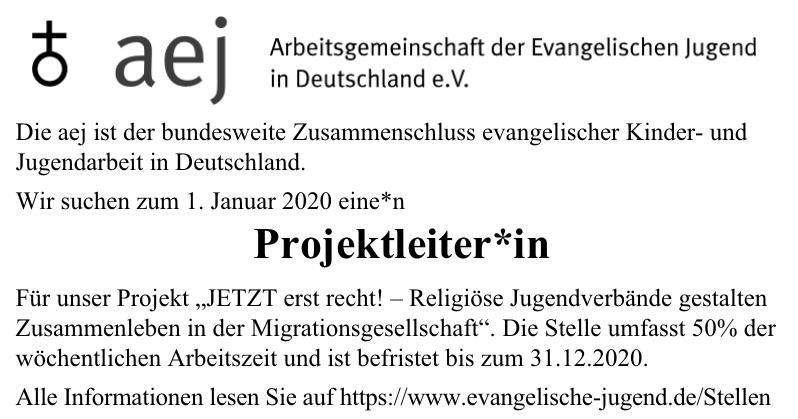 Arbeitsgemeinschaft der Evangelischen Jugend in Deutschland e. V.