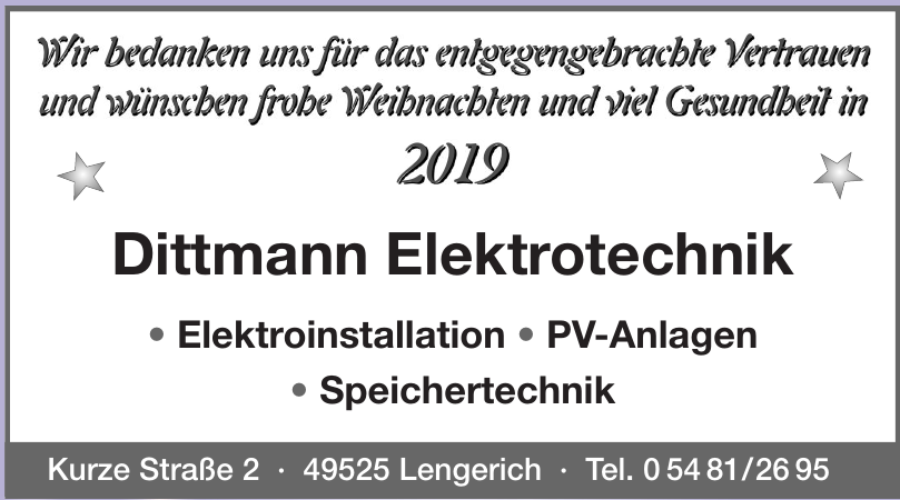 Dittmann Elektrotechnik