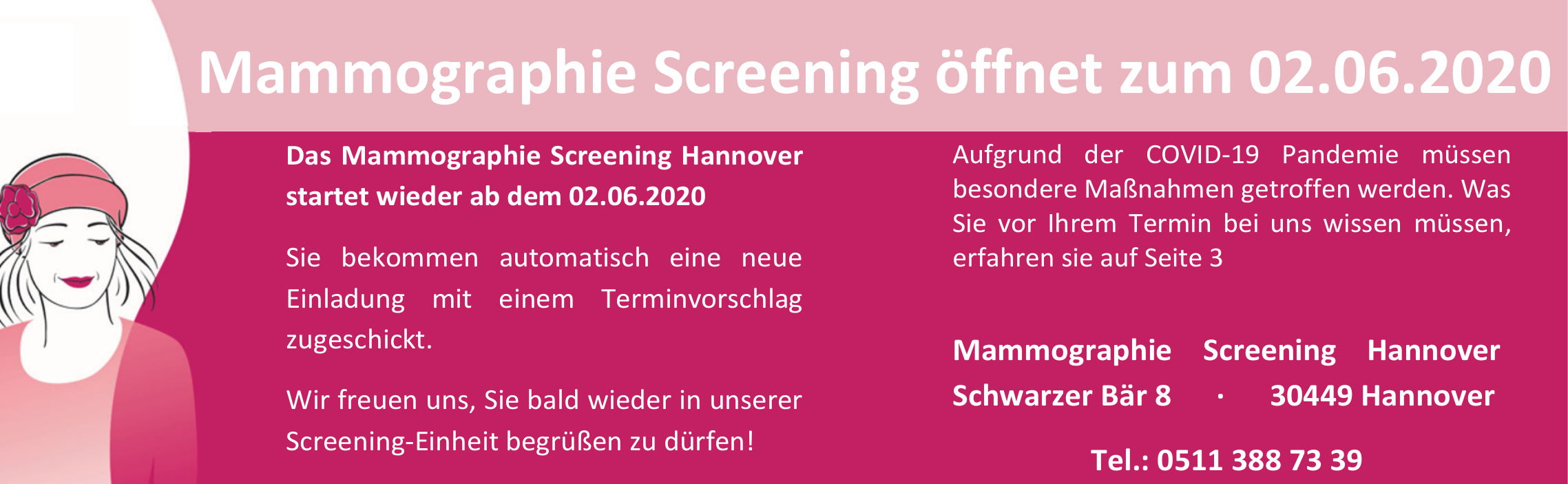 Mammographie Screening Hannover