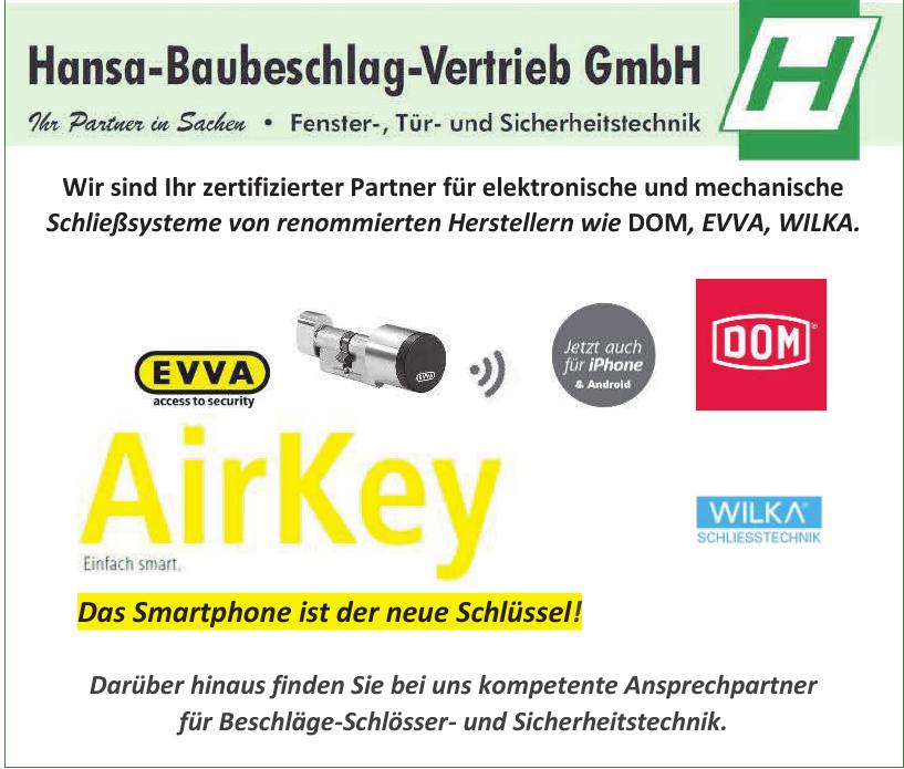 Hansa-Baubeschlag-Vertrieb GmbH