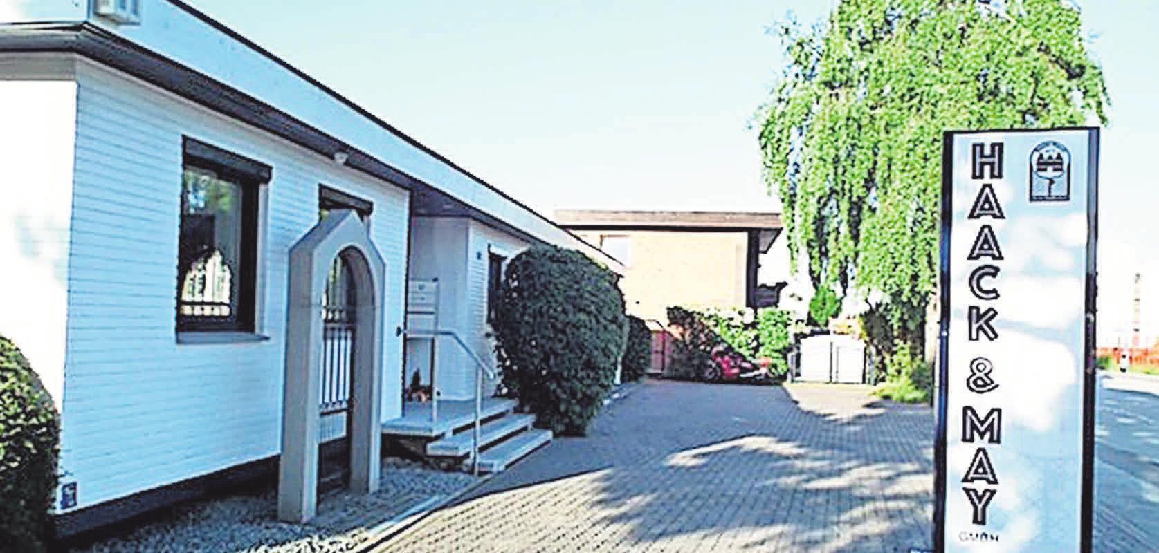 Seit 1976: der heutige Firmensitz Hinter den Kirschkaten Foto: Haack & May