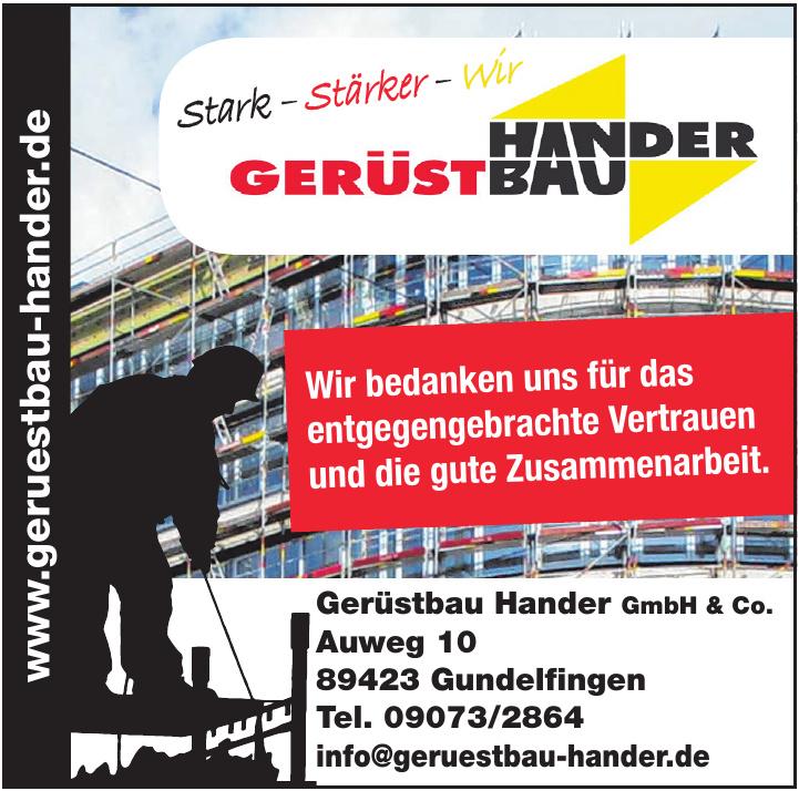 Gerüstbau Hander GmbH & Co.