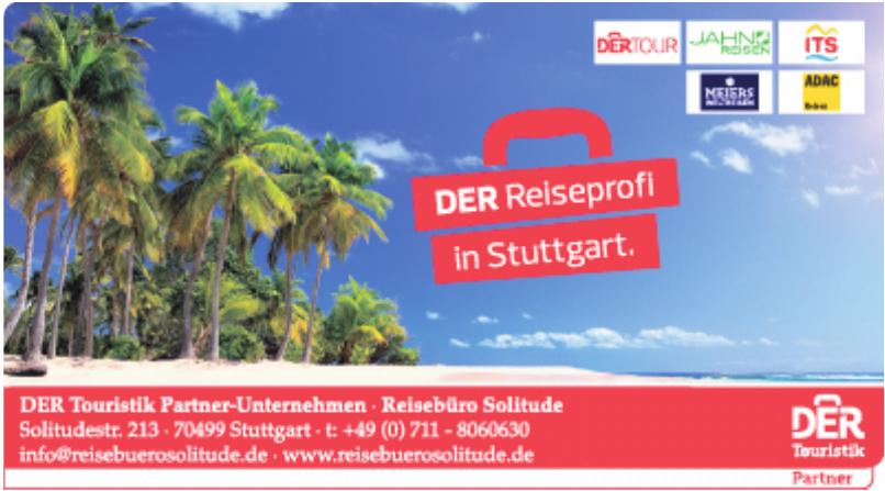 DER Touristik Partner-Unternehmen - Reisebüro Solitude