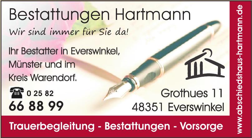 Bestattungen Hartmann