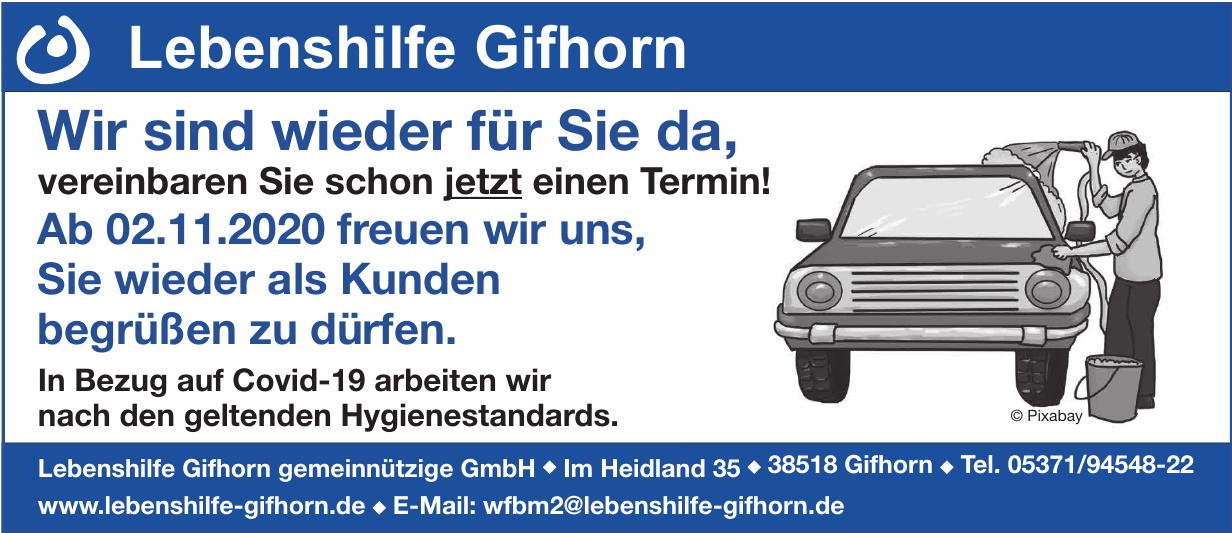 Lebenshilfe Gifhorn gemeinnützige GmbH