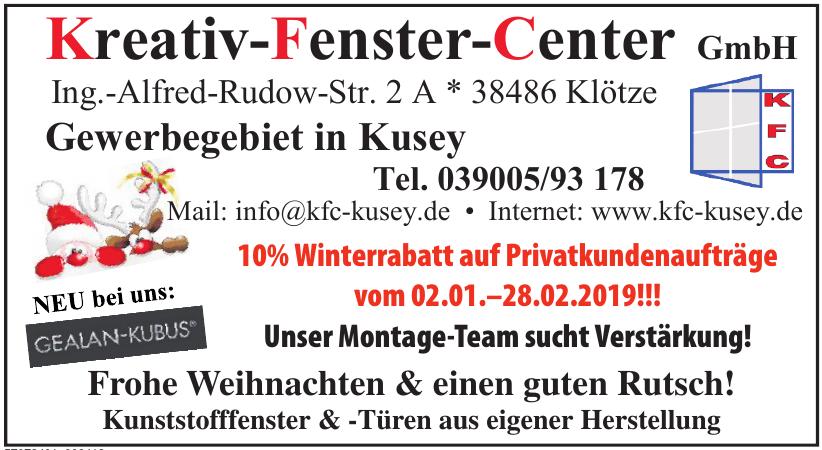 Kreativ-Fenster-Center GmbH
