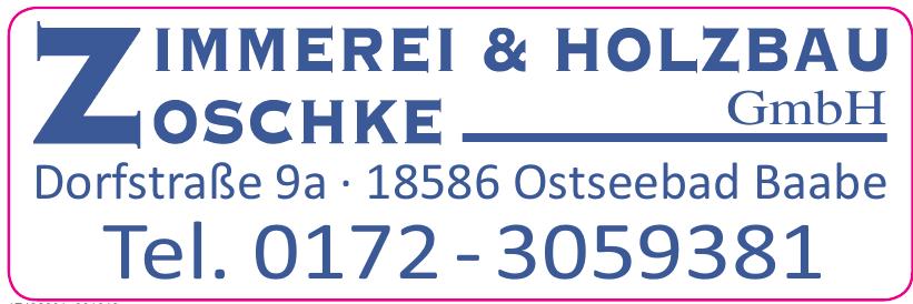 Zimmereu & Holzbau Zoschke GmbH