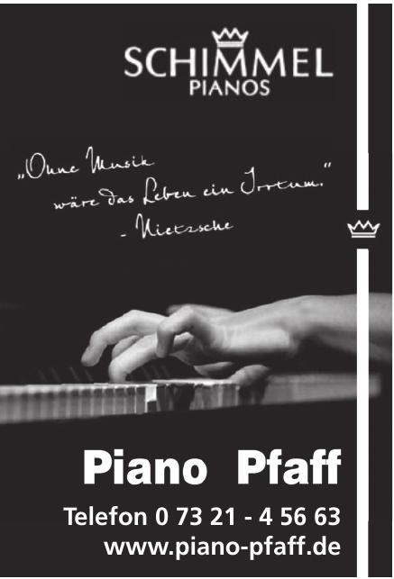 Piano Pfaff