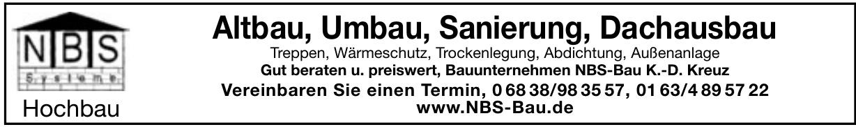 NBS Systeme Hochbau