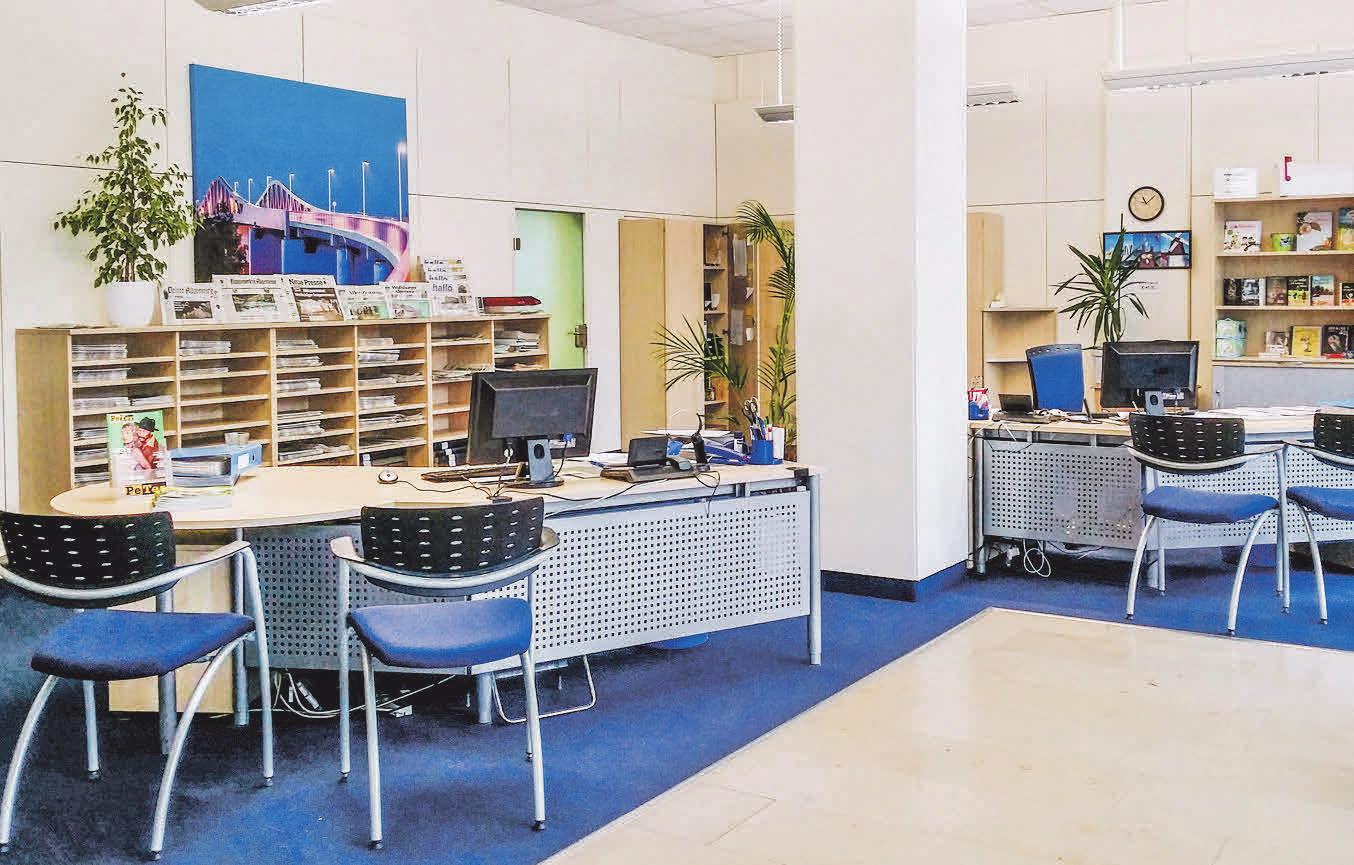 Damals wie heute ist die PAZ-Geschäftsstelle eine gute Anlaufstelle für die Leser und Besucher. Fotos: PAZ-Archiv