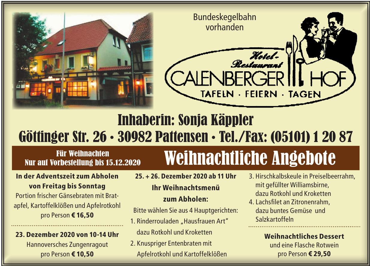 Hotel - Restaurant Calenberger Hof
