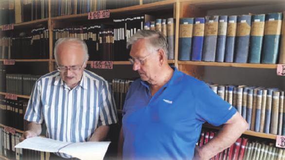 Auf dem Bild (von links): Paul Haueis und Siegfried Geiser