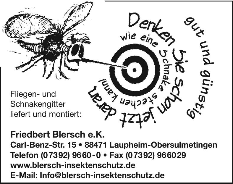 Friedbert Blersch e. K.