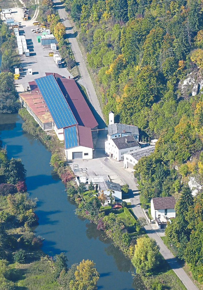 Die Firma ROHO in Walting gehört seit 1989 zur Schöpfel-Gruppe.