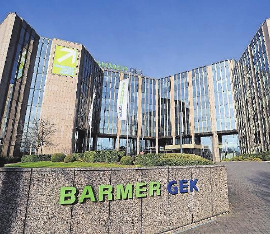 Bei der Barmer – hier die Hauptverwaltung auf Lichtscheid – arbeiten derzeit 12 000 der insgesamt 15 000 Mitarbeiter vom heimischen Schreibtisch aus.
