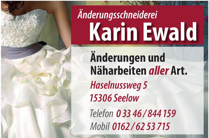 Änderungsschneiderei Karin Ewald