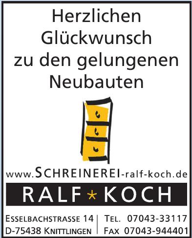 Schreinerei Ralf Koch
