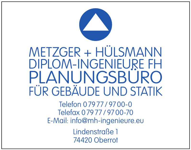 Metzger & Hülsmann Planungsbüro für Architektur Statik
