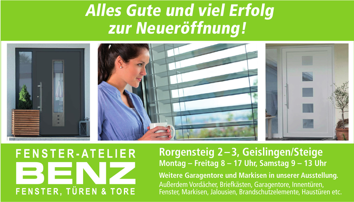 Benz Fenster-Atelier