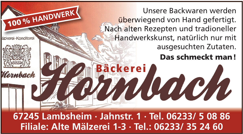 Bäckerei Hornbach