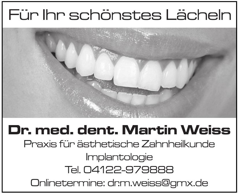 Dr. med. dent. Martin Weiss