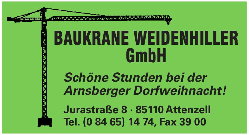 Baukrane Weidenhiller GmbH