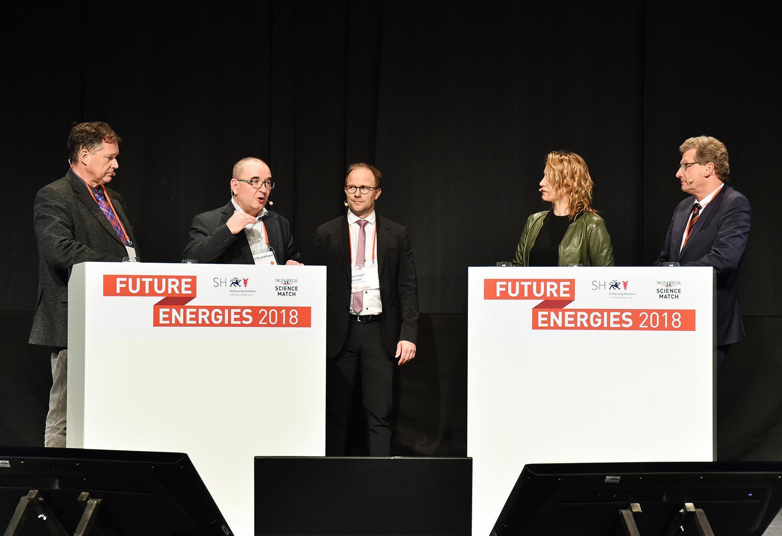 """Das Land Schleswig- Holstein setzt auf Clusterinitiativen und Konferenzen wie die """"Future Energies 2018"""" in Kiel.FOTO: JAN KONITZKI"""