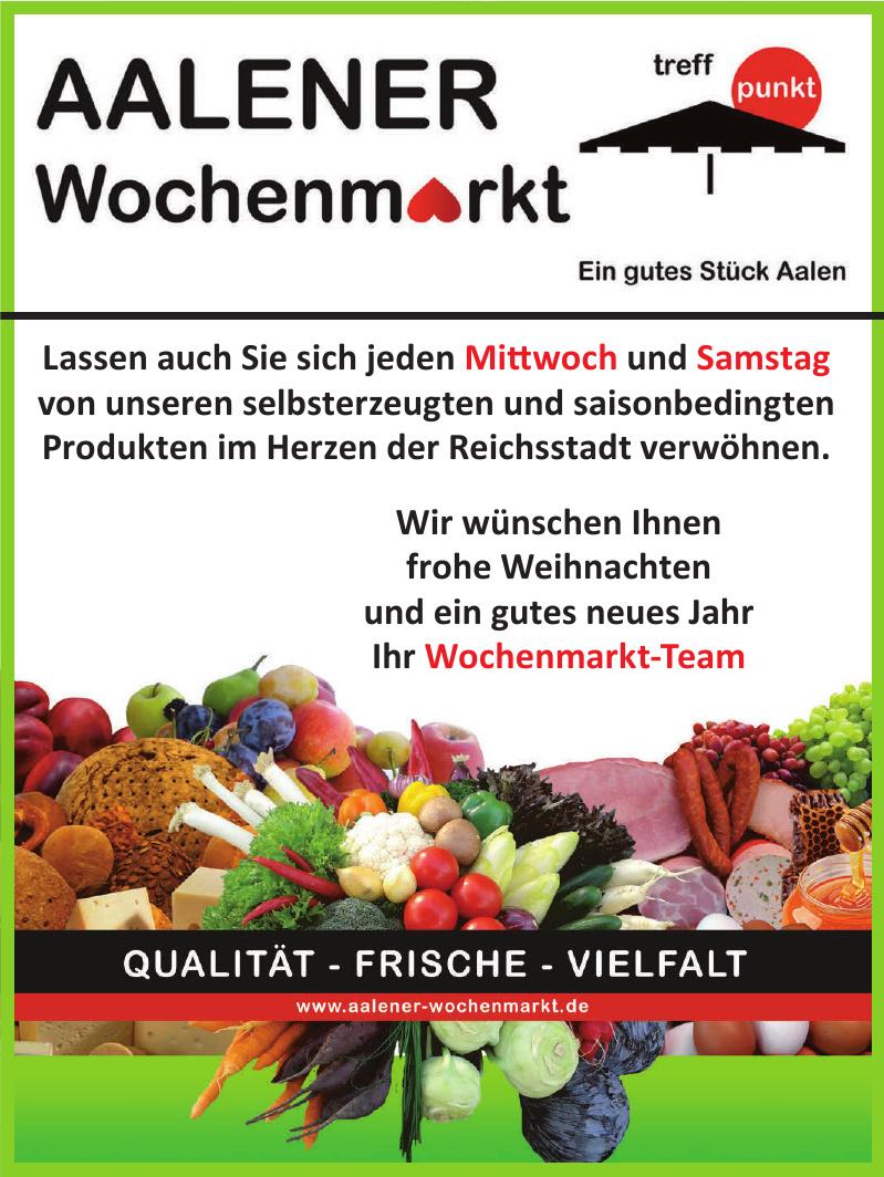 Aalener Wochenmarkt