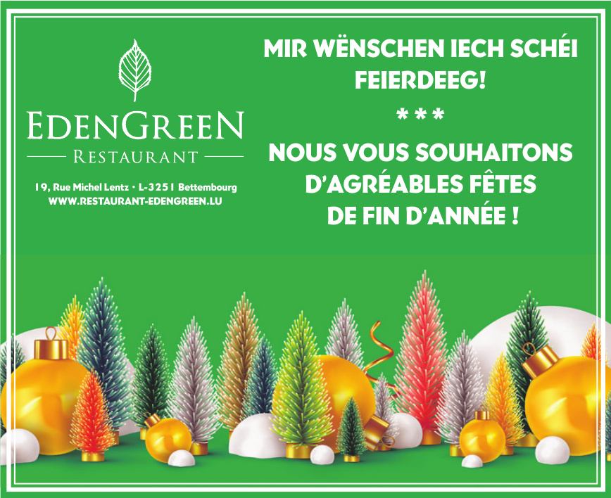 Restaurant EdenGreen