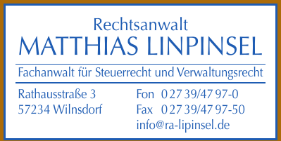 Rechtsanwalt Matthias Linpinsel